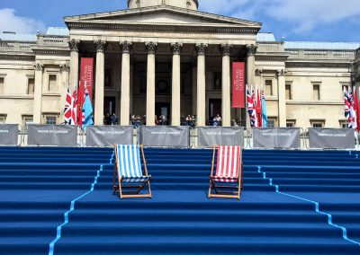 VE Day Commemorations Trafalgar Square